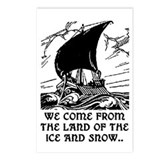 THE LAND OF THE ICE AND SNOW.. Postcards (Package