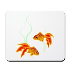 Chinese Koi Goldfish Mousepad