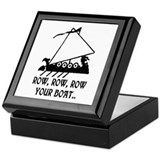 ROW, ROW, ROW YOUR BOAT Keepsake Box