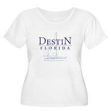 Destin Sailboat - T-Shirt