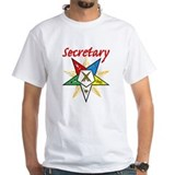 Eastern Star Secretary Items Shirt