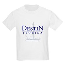 Destin Sailboat - T-Shirt
