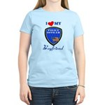 Police Boyfriend Women's Light T-Shirt