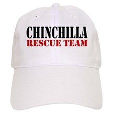 Chinchilla Rescue no fur Baseball Cap