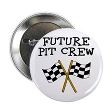 "Future Pit Crew 2.25"" Button"