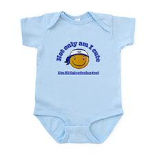 Not only am I cute I'm El Salvadorian too! Infant