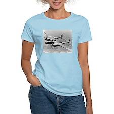 P-38 Lightning Women's Pink T-Shirt