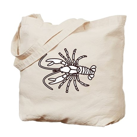 Crawfish White Tote Bag
