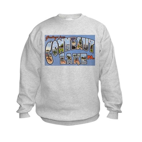 Conneaut Lake Pennsylvania Kids Sweatshirt