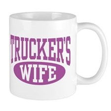 Trucker's Wife Small Mugs