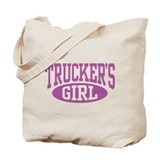 Trucker's Girl Tote Bag