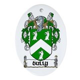 Tully Coat of Arms Keepsake Ornament