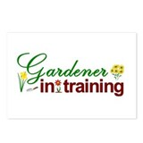 Gardener in Training Postcards (Package of 8)