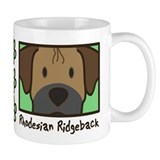 Anime Rhodesian Ridgeback Mug