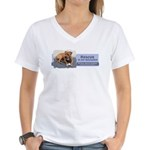 Rescue is my religion Women's V-Neck T-Shirt