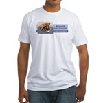 Rescue is my religion Fitted T-Shirt