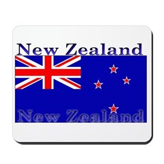 New Zealand Zealander Flag Mousepad