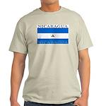 Nicaragua Nicaraguan Flag Ash Grey T-Shirt