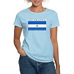 Nicaragua Nicaraguan Flag Women's Pink T-Shirt