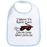 Race Like My Uncle Bib