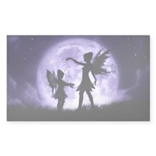 Fairy Sisters Rectangle Decal