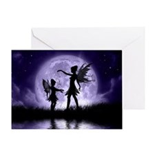 Fairy Sisters Greeting Card