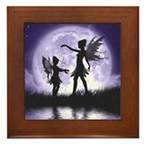 Fairy Sisters Framed Tile