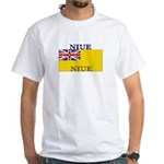 Niue White T-Shirt