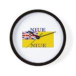 Niue Wall Clock