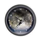 Dragon Moon Wall Clock