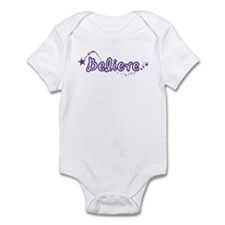 (Purple) Fairy Wings Infant Bodysuit