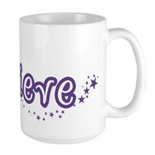 (Purple) Believe Mug