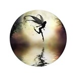 "Moonlit Waters 3.5"" Button (100 pack)"