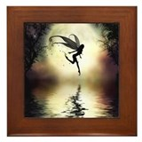 Moonlit Waters Framed Tile