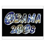 Obama 2008 Earth Small Poster