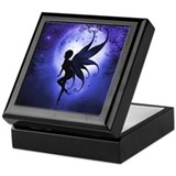 Indigo Fairy Keepsake Box