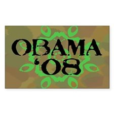 Obama '08 Rectangle Sticker 50 pk)
