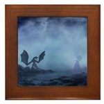 Dragon Myst Framed Tile
