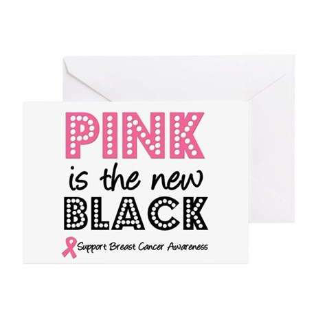 PinkisTheNewBlack (v2) Greeting Cards (Pk of 10)