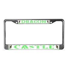 Dragon Castle License Plate Frame