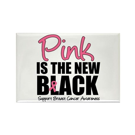 PinkisTheNewBlack (v3) Rectangle Magnet