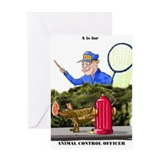 Animal Control Officer Greeting Card