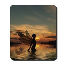 Fairy at Sunset Mousepad