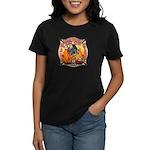 Riverside FD Station 8 Women's Dark T-Shirt