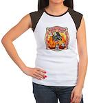 Riverside FD Station 8 Women's Cap Sleeve T-Shirt