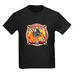 Riverside FD Station 8 Kids Dark T-Shirt