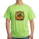 Riverside FD Station 8 Green T-Shirt