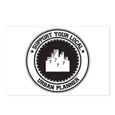 Support Urban Planner Postcards (Package of 8)