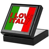 I Love Italy Keepsake Box