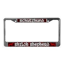 Schutzhund Shiloh Shepherd License Plate Frame
